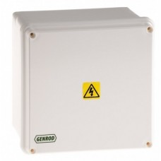 CAJA DE PASO PVC 165X165X110 IP 65-(06161611G)-GENROD