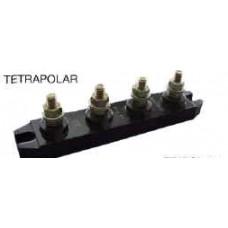 BORNERA TETRAPOLAR  25 A.T4-25-TEA