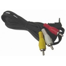 CABLE ARMADO 1PLUG 3.5 ST/PLUG 3,5 ST 2 METROS